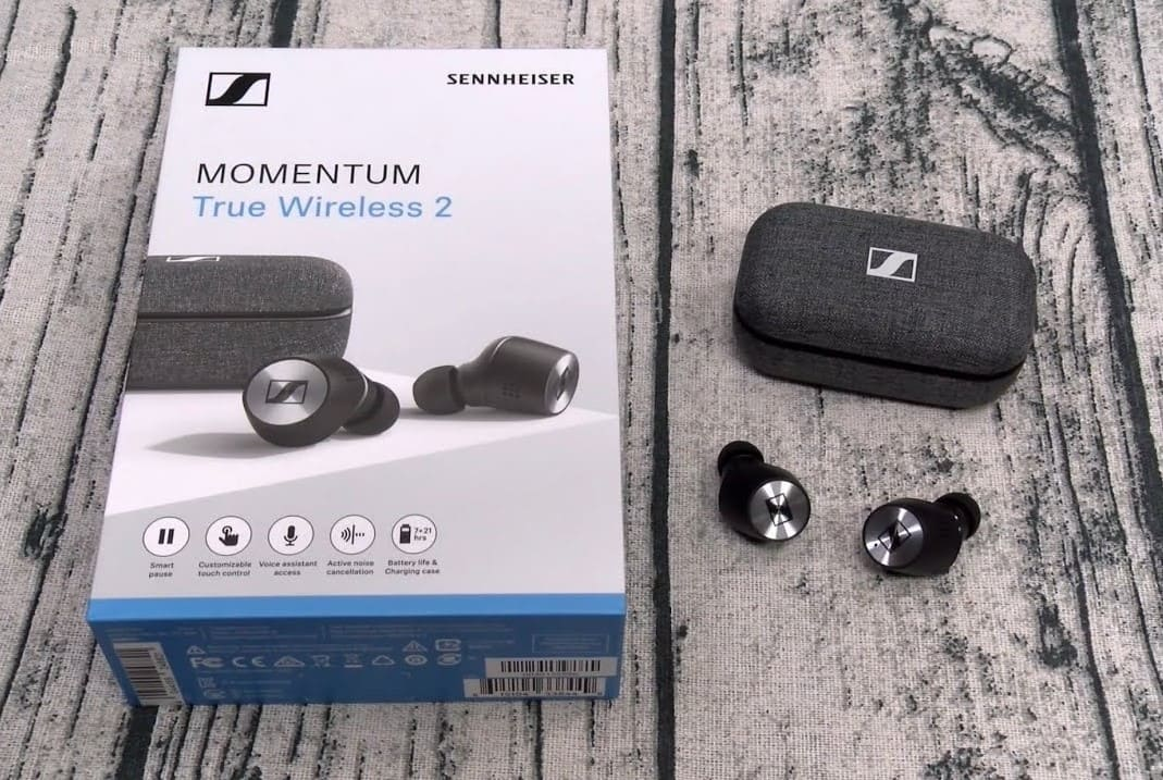Комплект Sennheiser Momentum True Wireless 2