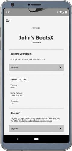 Beats Powerbeats 4 app