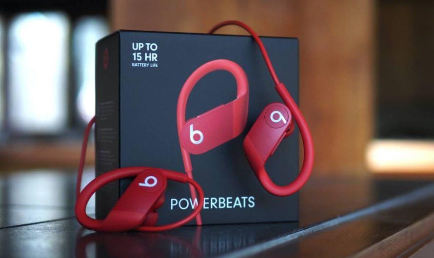 Обзор Beats Powerbeats 4 2020 года: спортивные наушники