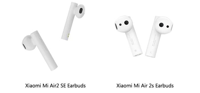 Сравнение Xiaomi Mi Air2S и Mi Air2 SE
