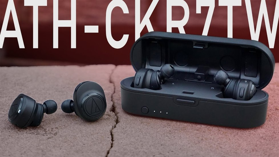 Наушники для телефона Audio-Technica ATH-CKR7TW