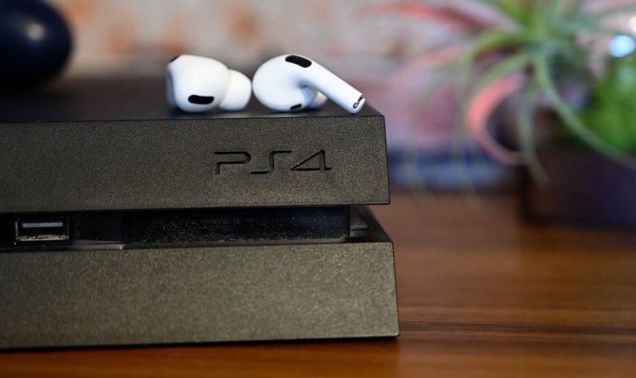 Как подключить AirPods Pro к PS4 или PS4 Pro?