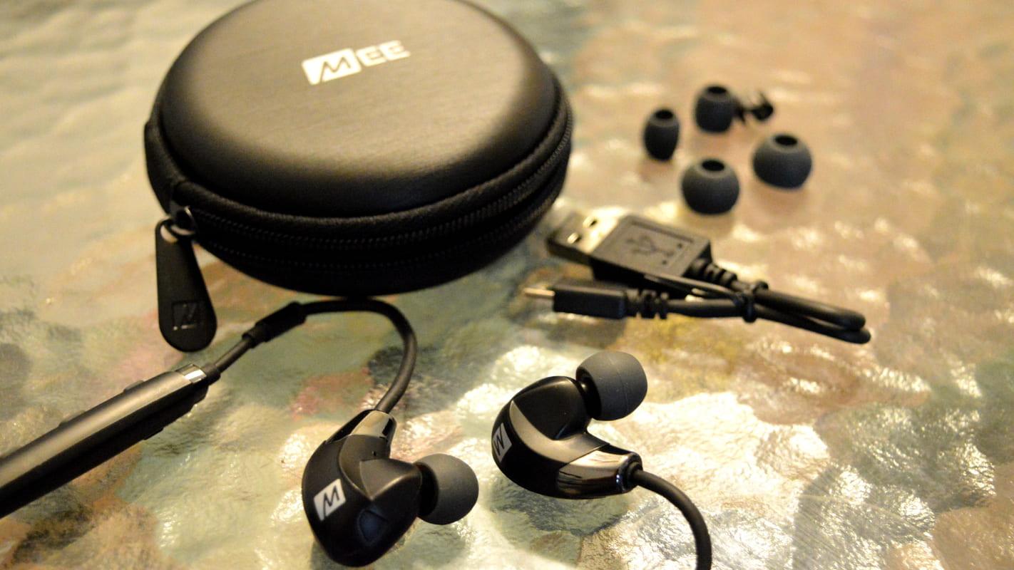 Лучшие спортивные наушники MEE audio X7 Plus