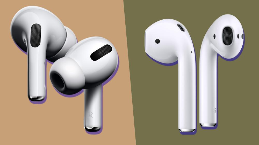 Сравнение Apple AirPods и AirPods Pro