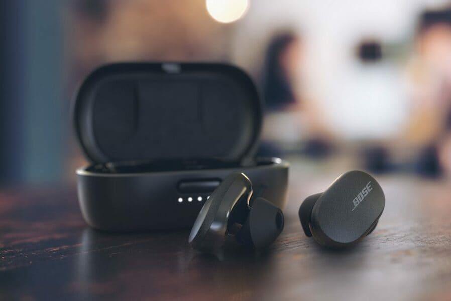 лучшие наушники для айфона Bose QuietComfort Earbuds