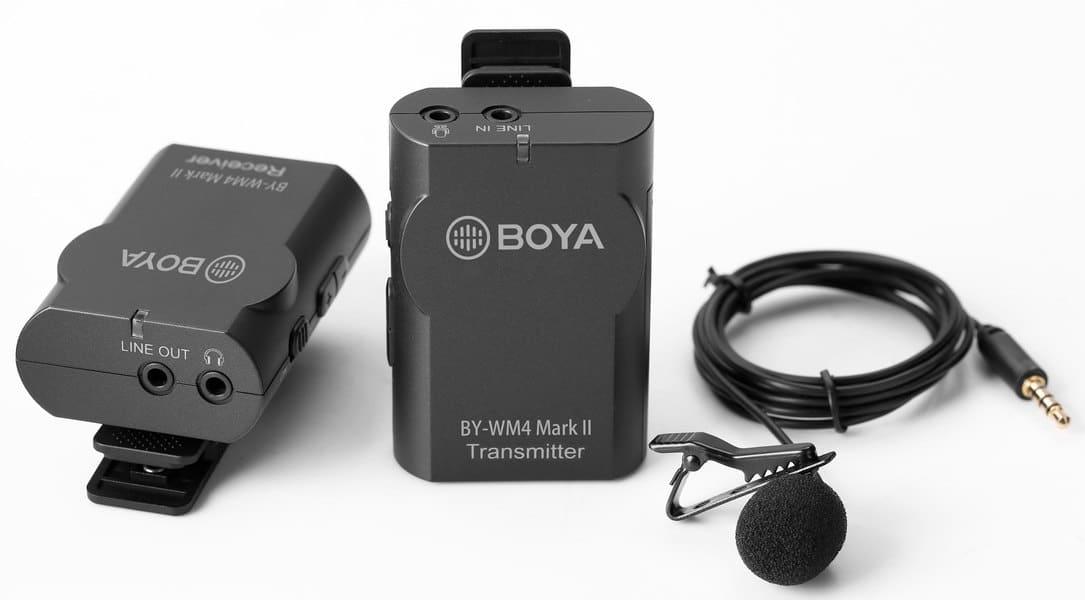 лучшие беспроводные микрофоны BOYA BY-WM4 Mark II