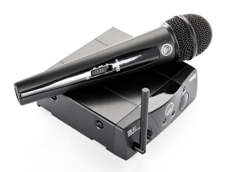 Лучшие бюджетные микрофоны AKG WMS40 Mini Single Vocal Set