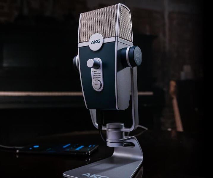 Лучшие игровые микрофоны AKG Lyra (C44-USB)