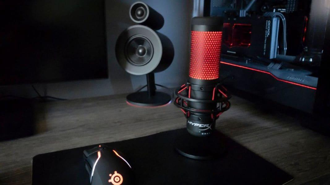 Лучшие игровые микрофоны HyperX QuadCast