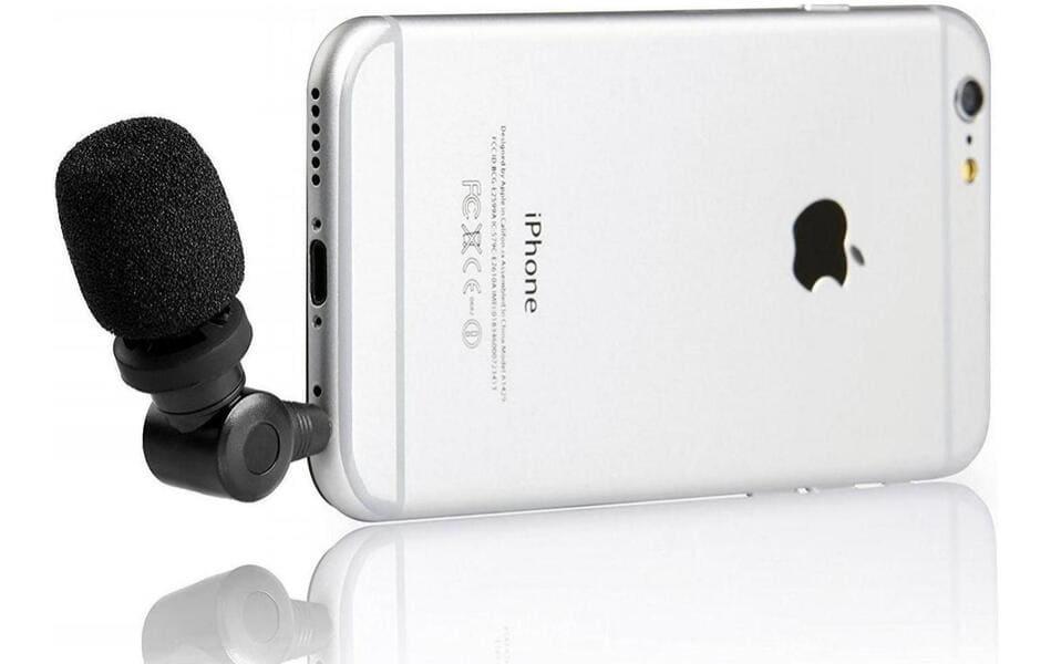 как подключить микрофон к iphone