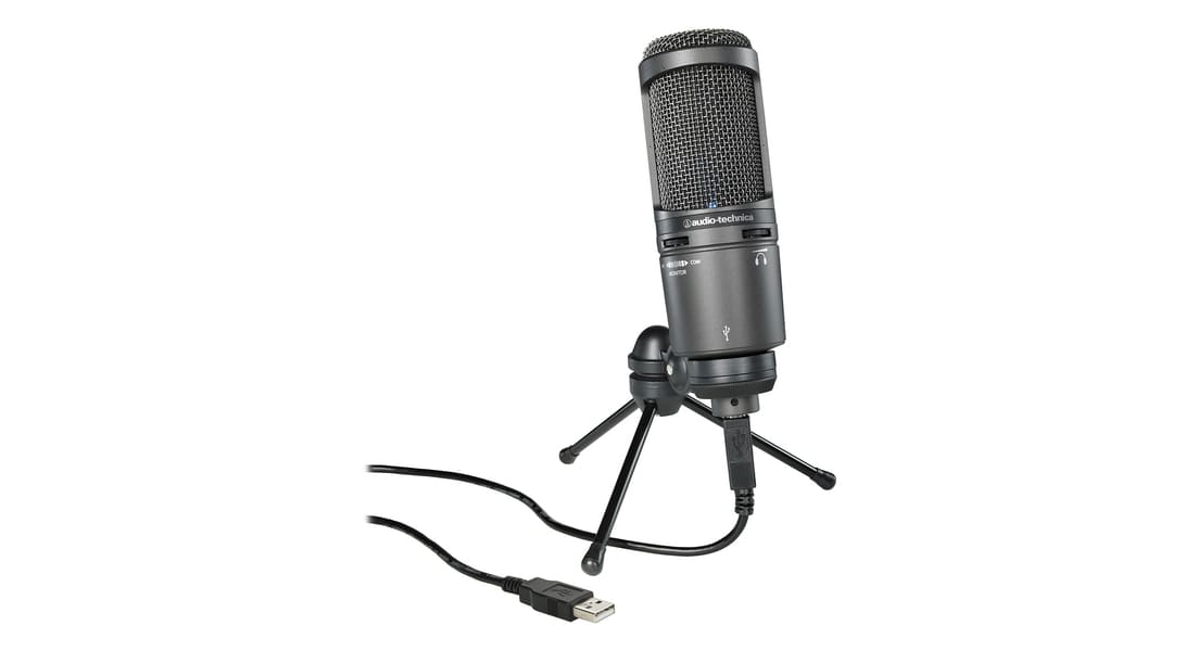 Лучший микрофон Audio-Technica AT2020USB+