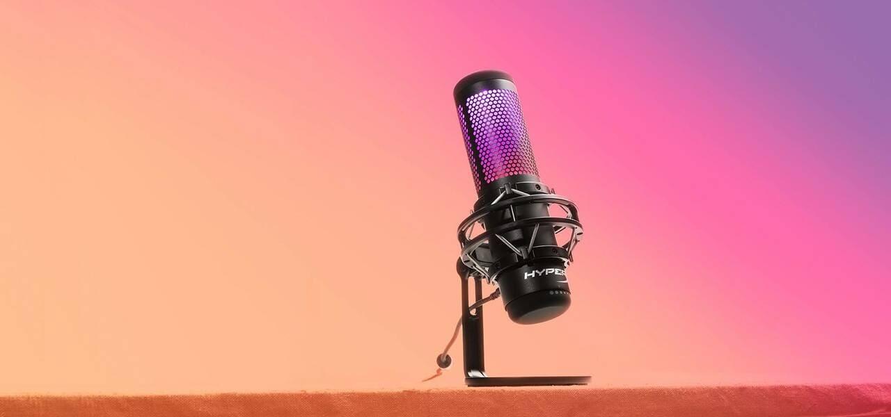 Лучший микрофон HyperX QuadCast