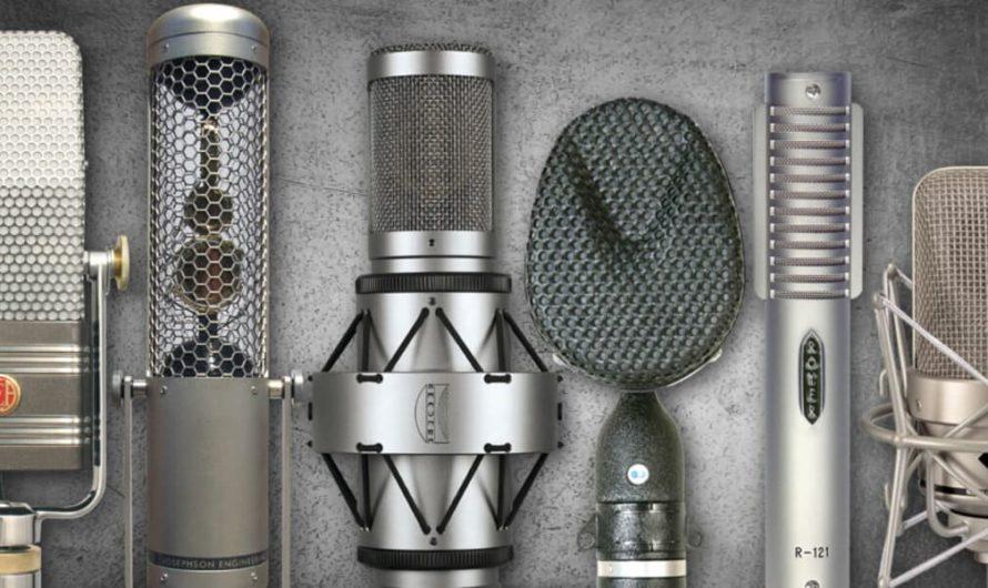 Какие бывают виды и типы микрофонов?