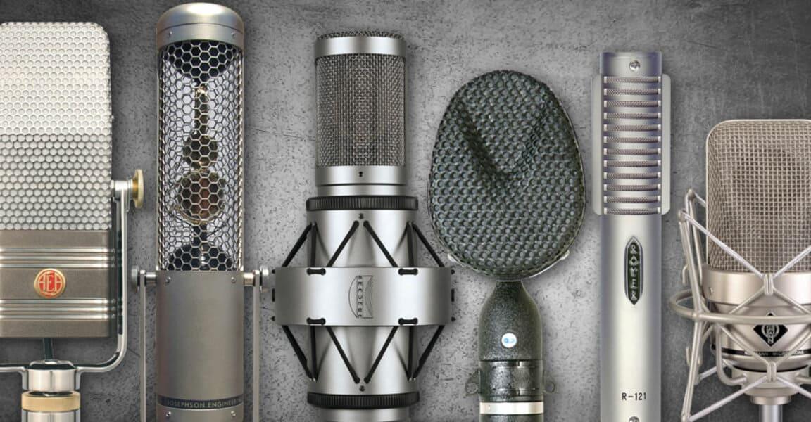 виды и типы микрофонов