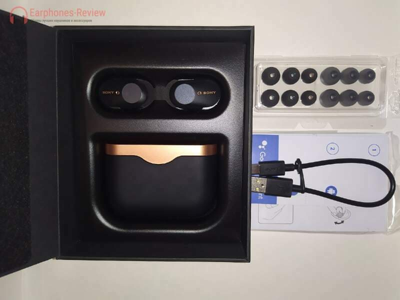 Комплект Sony WF-1000XM3