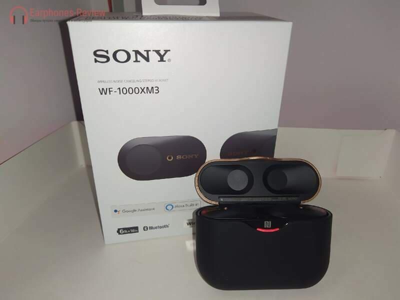 Коробка Sony WF-1000XM3