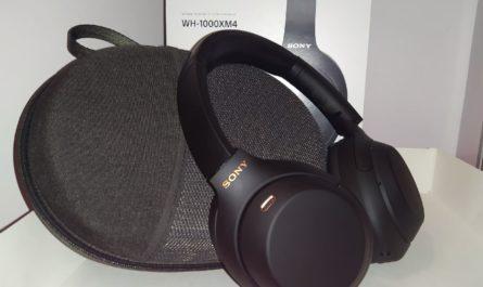Обзор Sony WH-1000XM4