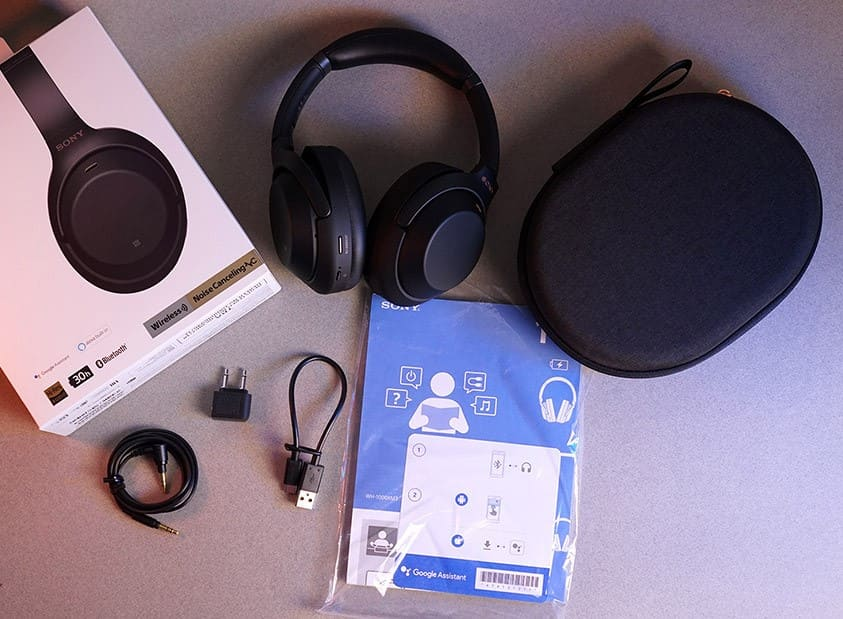 Комплект Sony WH-1000XM3