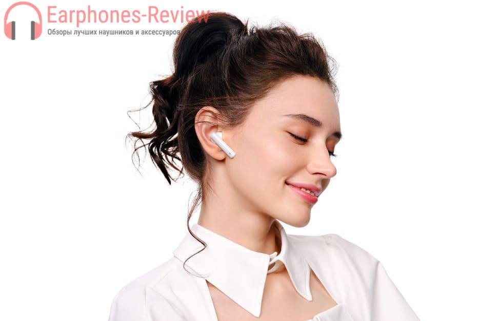 Эргономика Huawei FreeBuds 4i